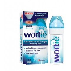 Wortie tratamiento anti verrugas manos y pies 50 ml