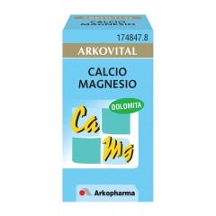 Arkovital calcio-magnesio 50 cápsulas