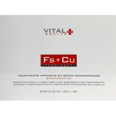 Vital Plus active FS+CU  2 un de 35 ml