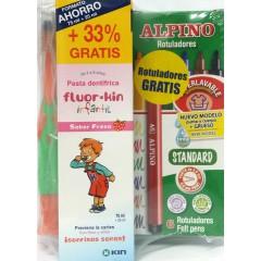 Kin fluor kin infantil pasta dental fresa 100 ml