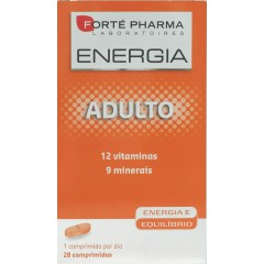 Forte pharma energy multivit adulto  28 comp