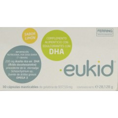 Eukid  30 capsulas masticables