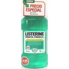 Listerine menta fresca 500 ml