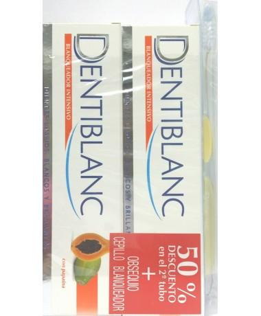Dentiblanc blanqueador intensivo pasta dental duplo 100 ml + 100 ml