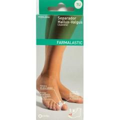 Farmalastic separador dedo juanete (hallus valgus) talla única 1 un