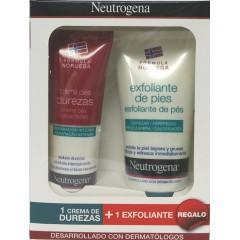 Neutrogena pies exfoliante + crema durezas 50 ml+ 50 ml