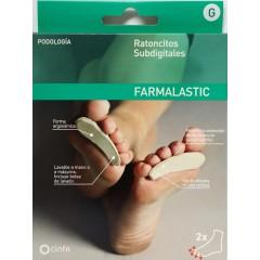 Farmalastic ratoncitos subdigitales talla G 2 un