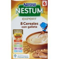 Nestlé Nestum expert 8 cereales con galleta 600 g