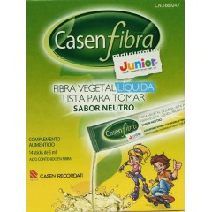 Casenfibra junior fibra vegetal liquida 14 sobres