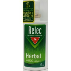 Relec herbal repelente mosquitos spray 75 ml