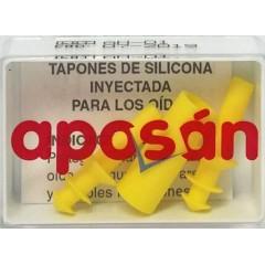 Tapones oídos silicona aposán niños 2 un
