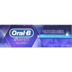 Oral B 3 d white luxe pasta dental blanqueante saludable 75 ml