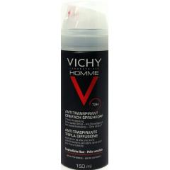 Vichy Homme antitranspirante 72 h triple difusión desodorante 150 ml