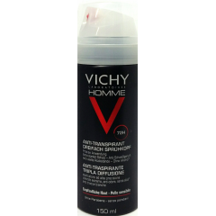 Vichy homme antitranspirante triple difusion 72 h aerosol 150 ml