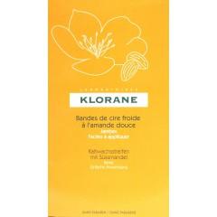 Klorane cera depilatoria en frio 6 bandas