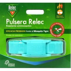 Relec pulsera repelente mosquitos (turquesa)
