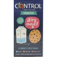 Control by mr wonderful preservativos 10 un