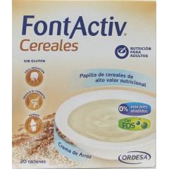 Fontactiv 8 cereales + crema de arroz  600 g
