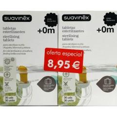 Suavinex esterilizante 36 tabletas