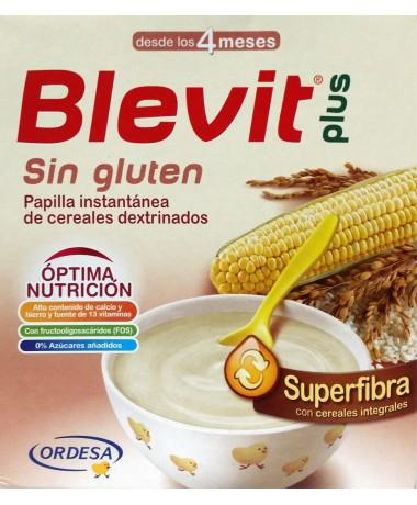 Papillas y alimentos para niños sin gluten (especial celíacos)