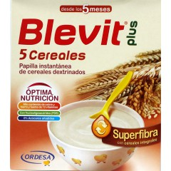 Blevit Plus superfibra 5 cereales  600 g