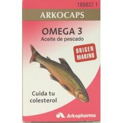 Arkocaps Omega 3 aceite de pescado 100 cápsulas