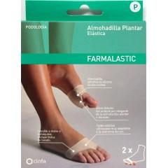 Farmalastic almohadilla plantar elástica t-p 2 un
