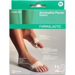 Farmalastic almohadilla plantar elástica t-m 2 un