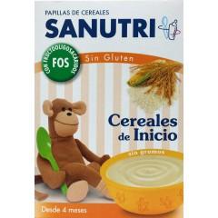 Sanutri papilla cereales sin gluten fos inicio 600 g
