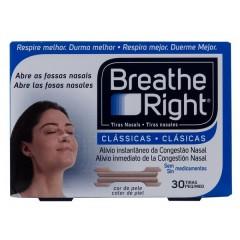 Breathe right tira adh nasal color talla P-M 30 un