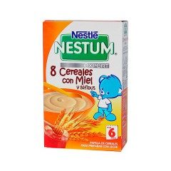 Nestle Nestum expert  8 cereales con miel  600 g