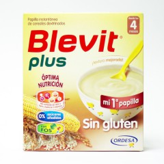 Blevit Plus sin gluten  600 g