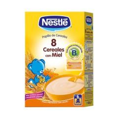 Nestle 8 cereales con miel 600 g