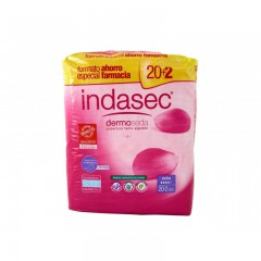 Indasec discreet extra 20 unidades