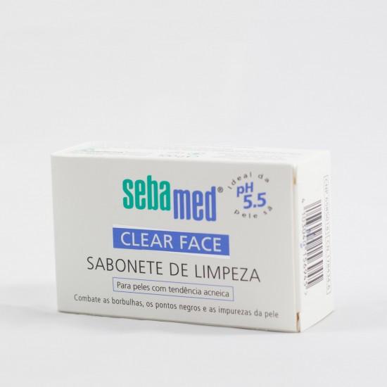Sebasmed limpiador pastilla clear face 100 g
