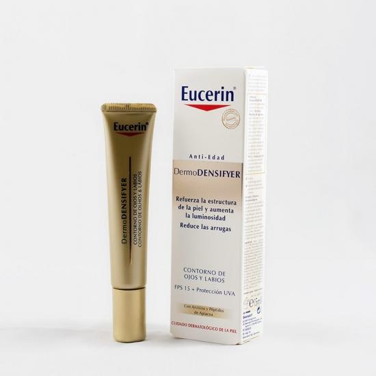 Eucerin Dermodensifyer contorno de ojos y labios 15 ml