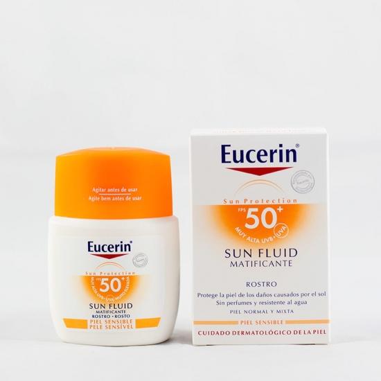 Eucerin Sun protection spf 50 fluído rostro matificante 50 ml