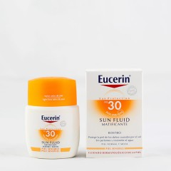 Eucerin Sun protectionspf 30 fluído matificante rostro 50 ml