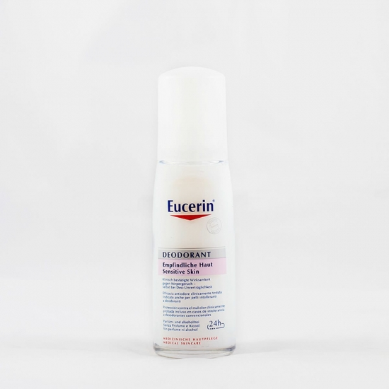 Eucerin desodorante piel sensible ph-5 desodorante bálsamo spray 75 ml