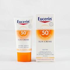 Eucerin Sun protection spf 50 crema rostro piel seca 50 ml