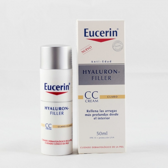 Eucerin Hyaluron filler cc cream color claro 50 ml