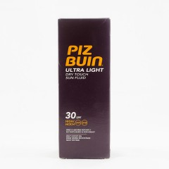 Piz Buin utra light spf 30 dry touch fluído 150 ml