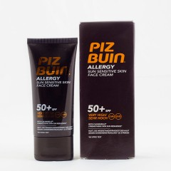 Piz buin allergy fps-50+ crema facial 50 ml