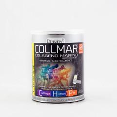 Collmar colágeno marino+hialurónico+magnesio limón 300 g