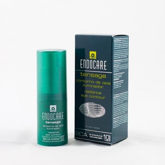 Endocare tensage contorno de ojos iluminador 15ml +regalo peeling iluminador - Farmacia Olmos