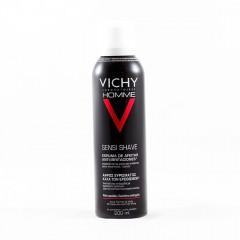 Vichy Homme espuma de afeitar piel sensible 200 ml aerosol