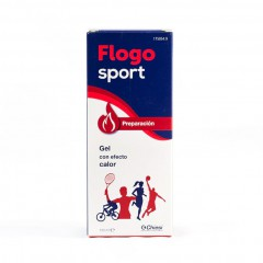 Flogo Sport preparación gel efecto calor 100 ml