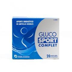 Glucosport complet 20 ampollas bebibles