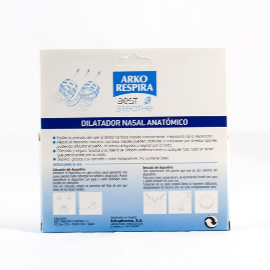 Arkorespira dilatador nasal anatomico - Farmacia Olmos