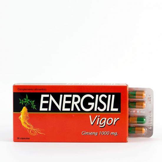 Energisil vigor 30 capsulas-Farmacia Olmos